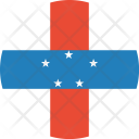 Netherlands Antilles Flag Icon