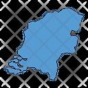 Netherlands Map Icon