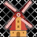 Netherlands Windmill Icon