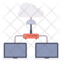 Network Communication Device Icon