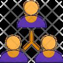 Team People Collaboration Icon