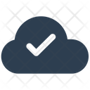 Check Cloud Mark Icon