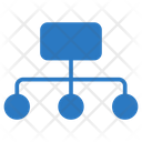 Network Connection Diagram Icon