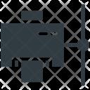 Network Printer Compute Icon