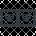Network Socket Broadband Icon