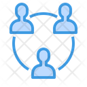 Connection Network Meeting Icon