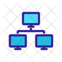 Network Computers Internet Icon