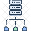 Network Data Connection Server Icon