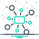 Network Collaboration Connection Icon
