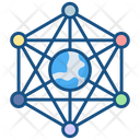 Connection Hierarchy Network Icon
