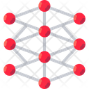 Deep Learning Network Ai Icon