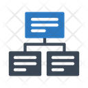 Network Connection Chart Icon