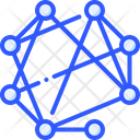 Master Node Network Icon