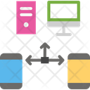 Network Connection Smartphone Icon