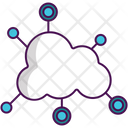 Network Cloud Network Cloud Commnication Icon