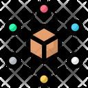 Big Data Network Box Icon