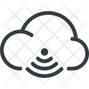 Network Cloud Share Icon
