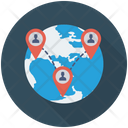 Network Connection Global Icon