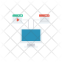Network Connection Lcd Icon