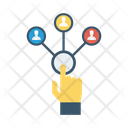 Network Connection Tap Icon