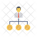 Network Connection Employee Icon