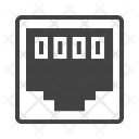 Network Clip Connector Icon