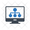 Network Connection Screen Icon