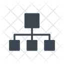 Network Connection Hierarchy Icon