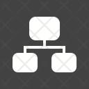 Network Alogorithm Flowchart Icon