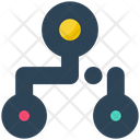 Electronics Connection Links Icon