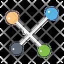 Network Structure Bonding Icon