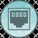 Network Clip Connector Icon