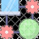 Network Cloud Internet Icon