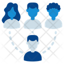 Network Social Network Team Icon