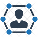 Network Connection Business Icon