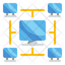 Network Connection Transfer Icon