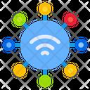 Network Internet Wireless Icon