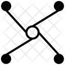 Network Atom Networking Icon
