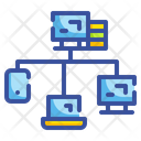 Network Computer Networking Icon