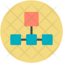 Network Structure Hierarchical Icon