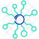 Network Connection Communication Icon