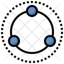 Network Share Circles Icon