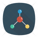 Network Graph Connections Icon