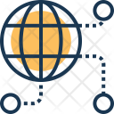 Global Network Internet Icon