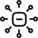 Channel Multiply Network Icon