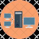 Network Desktop Server Icon
