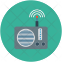 Network Radio Signal Icon