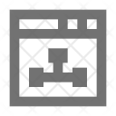 Network Sitemap Web Icon
