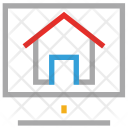 Network Screen Online Icon