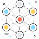 Network Structure Connections Icon